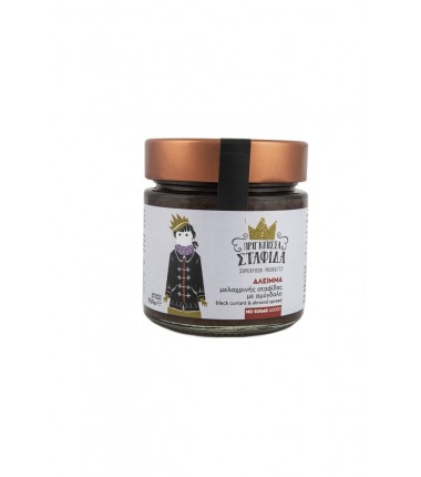 Corinthian black currant and almond spread 250gr