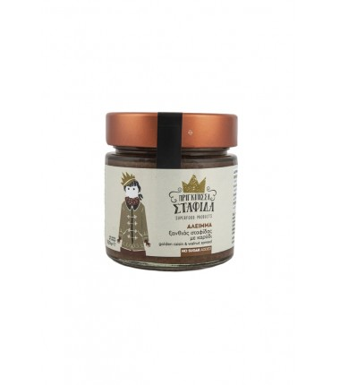 Corinthian golden raisins and walnut spread 250gr