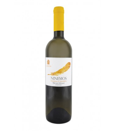 """Ninemos"" White Wine Lafkiotis 750ml"