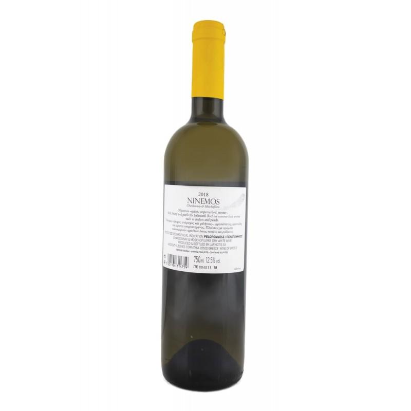 """Ninemos"" White Wine Lafkiotis 750ml"