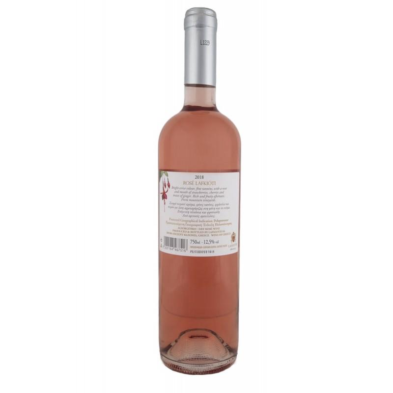 Λαυκιώτη Ροζέ ξηρό Αγιωργίτικο  750ml