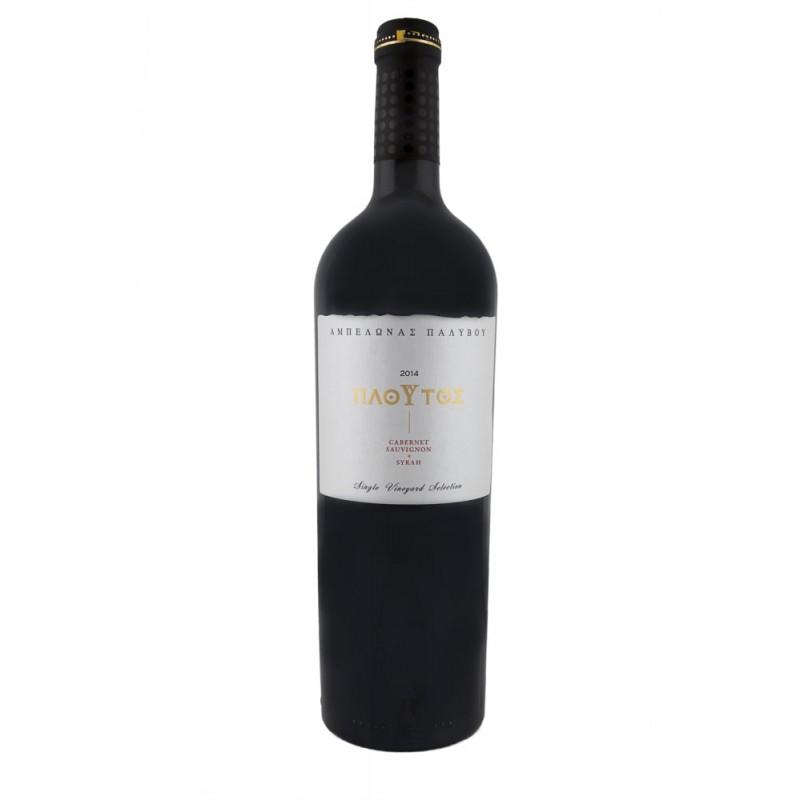 """Palivou """"Ploutos"""" Red dry wine  750ml"""