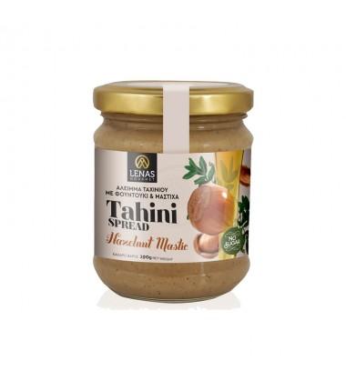 Tahini spread with hazelnut, honey, petimezi (molasses) and mastic 190gr