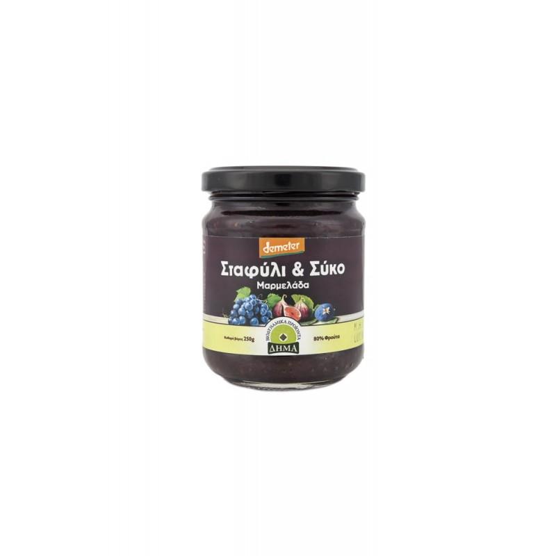 Demeter Grape and Fig jam Dima , 250gr