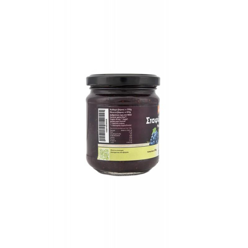 Μαρμελάδα Βιολογική (Demeter)  Σταφύλι - Σύκο Δήμα χωρίς ζάχαρη  250γρ