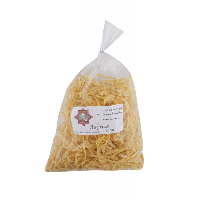 Λαζάνια με τις συνταγές Ορεινής Κορινθίας 500γρ