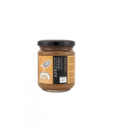 Σάλτσα γλυκόξινη (Chutney)  Bio Βερίκοκο ''Δρύπες'' 240γρ