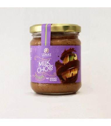 Milk Chocolate & Pistachio Spread no Sugar 190gr