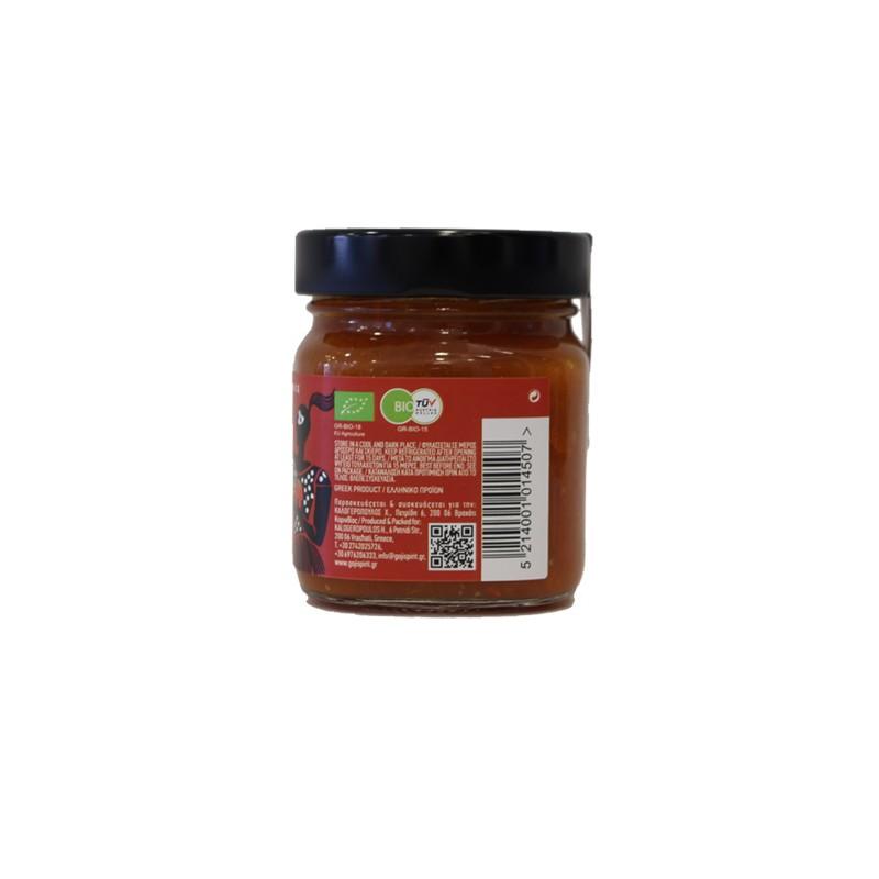 Sauce  Organic with Goji berry - Tomato - Oregano   200gr