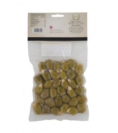 Green olives stuffed with almonds 250gr