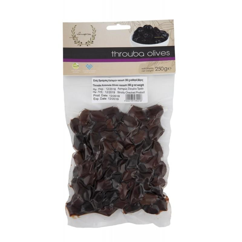 Wrinkled olives Kalamon unsalted 250gr