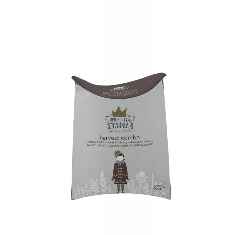 Golden raisin, black currant,  Walnut & Almond 150gr